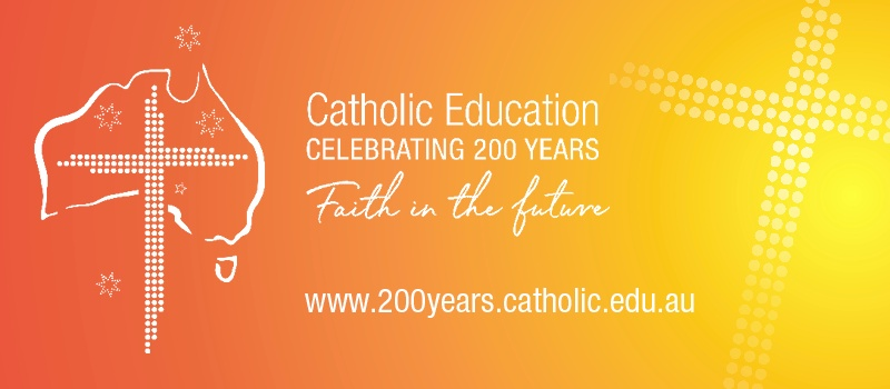 Catholic Education 200 Years Logo