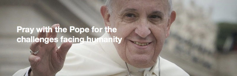 Pope's 2021 intentions