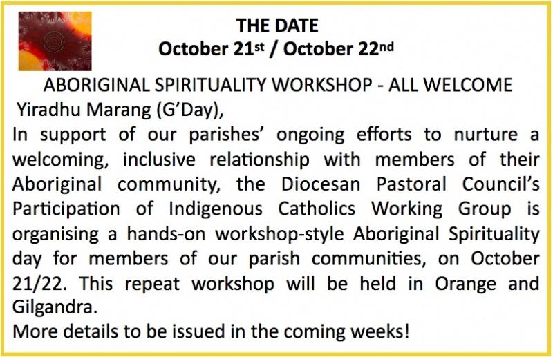 Aboriginal Sprituality Workshop