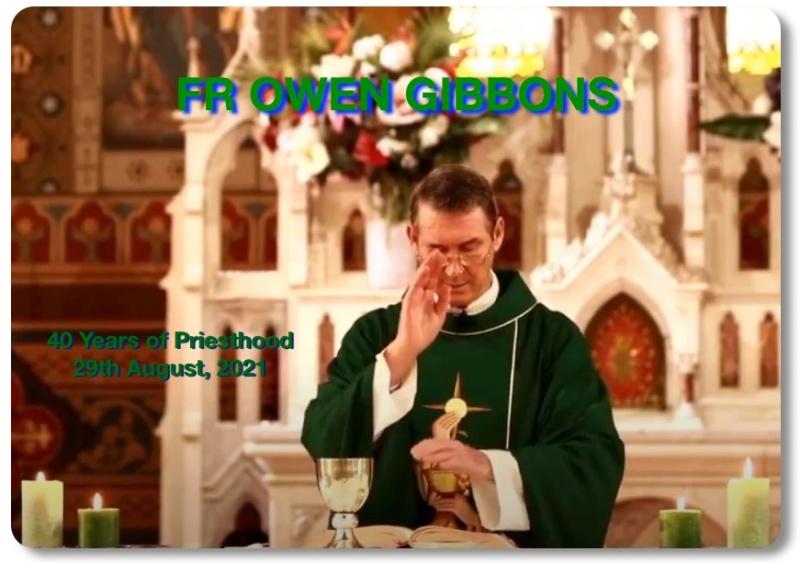 Fr Owen 40 Years of Priesthood