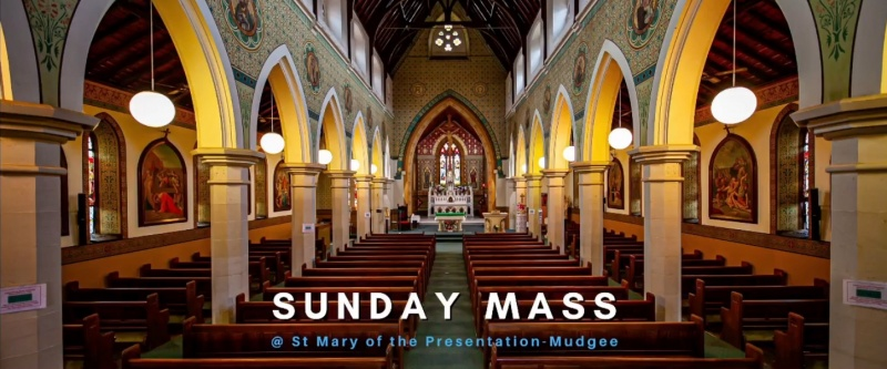 Watch our last Mass online
